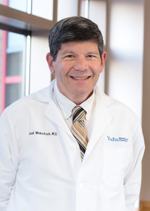 Joel Weinstock, MD is the Chief of Gastroenterology at Tufts Medical Center in Boston, MA.