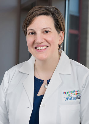 Anna Golja is a radiologist at Tufts MC