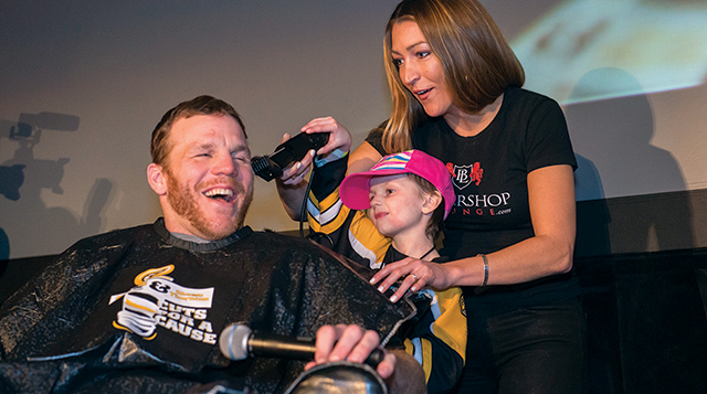 Shawn Thornton hosts Cuts for a Cause