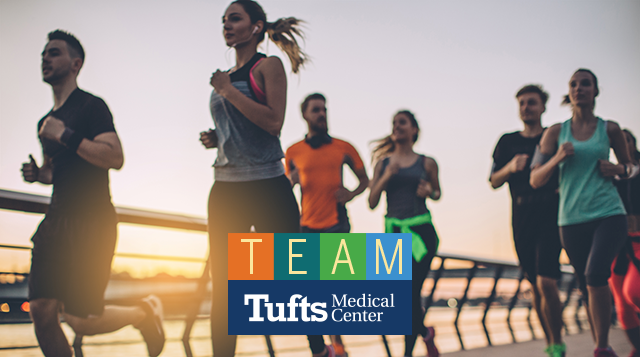 Team Tufts MC for the Falmouth Road Race
