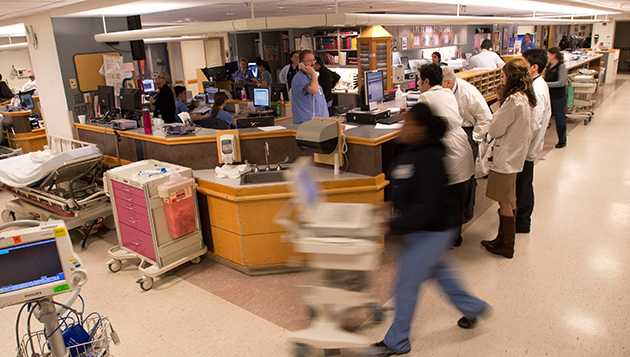 Doctors in the Emergency Room at Tufts Medical Center