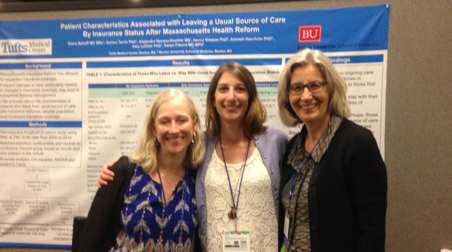 Representatives from the Institute for Clinical Research and Health Policy Studies (ICRHPS) at Tufts Medical Center presented at the 2017 National SGIM and ACTS Annual Meeting.