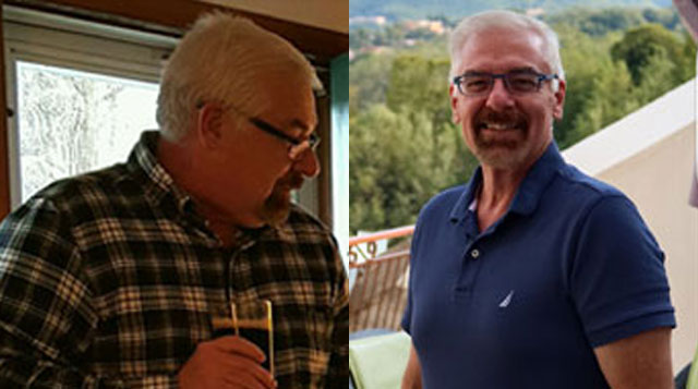 John McAvoy received gastric bypass surgery at Tufts Medical Center in downtown Boston, MA.