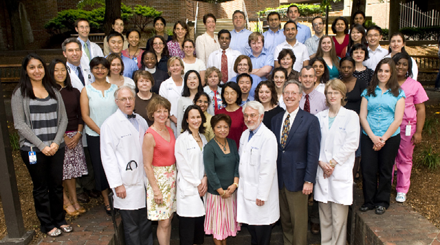 Division of Neprhology at Tufts Medical Center team photo.