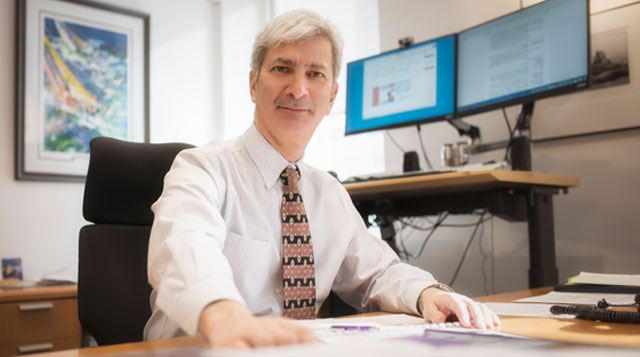 Dr. Michael Apkon is the new CEO of Tufts MC