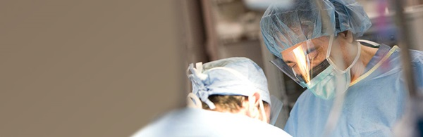 Gennaro Carpinito, MD, Chief of Urology at Tufts Medical Center, performs minimally invasive surgery.