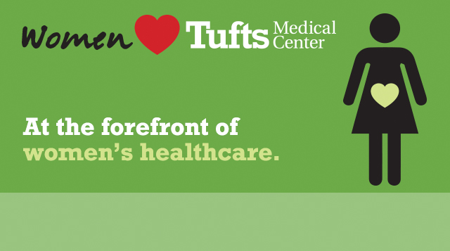 Illustration of the Doctors Love Tufts Medical Center advertisements.